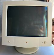 Clean Working Apple Computer Multiple Scan 720 Display Crt 17 Monitor M4552 Bh