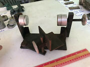Preformer Used Sphere Machine Jig Indexer With 6 Cups Up To 5 1/2 Inch Spheres