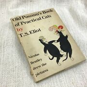 1945 Rare Book Old Possums Book Of Practical Cats T S Elliot Illustrated