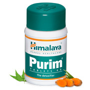5 X Himalaya Purim 60 Tablet Each Treat And Prevent Various Skin Infections