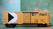 Tyco 40and039 Boxcar Canadian Pacific Rail Rd Cp 56767 With Sliding Doors - Ho