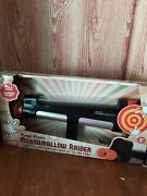 Marshmallow Shooter Pump Gun Toy - Fires Up To 30 Feet - New In Box