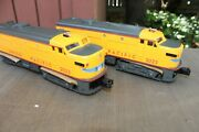 Williams 20098 Lionel 2023 Alco Union Pacific Gray Nose And Side Frames Boxed