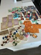 Vintage 1940's 1950's Sewing Threads Silk Bindings Supplies Collection Lot New