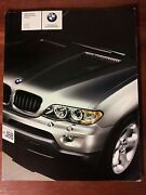 2006 Bmw X5 Dealership Brochure - 88 Pages - Must See - 3.0i + 4.4i + 4.8is