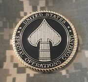 United States Special Operations Socom Oef Afghanistan Military Challenge Coin