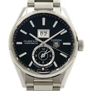 Auth Tag Heuer Watch War5010.ba0723 Carrera Grand Date Gmt Automatic Case41mm