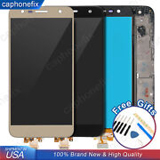 For Tracfone Lg Fiesta Lte L64vl Lcd Display Touch Screen Digitizer Assembly