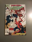 The Amazing Spiderman 362 Htf 2nd Print 2nd Appearance Of Carnage