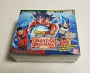 Universal Onslaught Booster Box Factory Sealed 24 Packs Dragon Ball Super Tcg