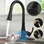 Touchless Kitchen Faucetsoosi Motion Sensor Single Handle Kitchen Faucets One H