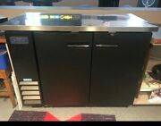 Artic Air 48 Bar Back Cooler Under Counter Beer Fridge Stainless  Used