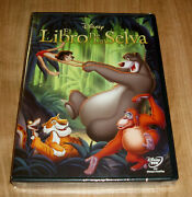 The Book Of The Jungle Disney Classic Nº 19 Dvd New Sealed Sleeveless Open R2