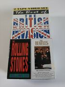 New The Best Of British Invasion Rolling Stones Andthe Beetles Cassette Vhs Tapes