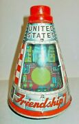 Cragstan United States Friendship 7 Space Capsule Circa 1963 Friction Drive