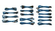 Professional Individually Sleeved Dc Cable Kit, Type 3 Generation 2, Blue