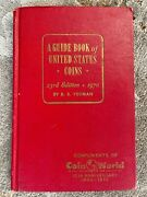 1970 Us Coins Red Book - Coin World 10th Anniv. Rare Limited Edition - Rs Yeoman