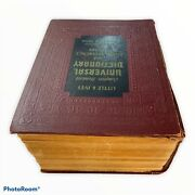 Vintage 1957 Little And Ives Complete Standard Universal Dictionary Reference D