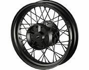 Indian Motorcycle 2880899-266 Rear Laced Wheel Scout Gloss Black