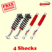 Kit 4 Front And Rear Strut Rs5000x Shocks For 07-13 Avalanche Rancho