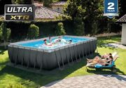 Intex Ultra Xtr 26363eh 24and039x12and039x52 Pool Set