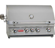 Bull Outdoor Products Stainless Steel Built-in Bbq 47629 Angus Grill Head Ng