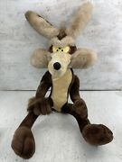 Vintage 1995 Wile E Coyote Large 32 Plush Toy Ace Novelty Wylie