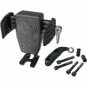 Charging Phone Holder With Black Perch Mount 2010-2013 Harley-davidson Road