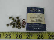 Lot Of 17 Tillotson Main Fuel Jets .059 011395 Boat Marine Replacement Jet