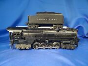 Lionel 671 S-2 Turbine With 671w Tender-1947 Model Serviced And Tested