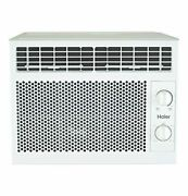 Window Air Conditioner Small Rooms White Cools Portable Ac Unit Energy Efficient