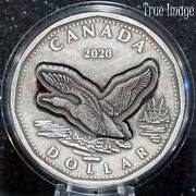 2020 - From The Randd Lab - 1 Flying Loon - 2 Oz. Pure Silver Coin - Canada