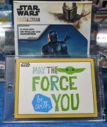 2021 Topps Star Wars The Mandalorian Season 2 May The Force Be With You /10