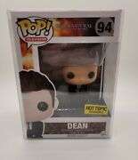 Funko Pop Television Supernatural 94 Dean Hot Topic Exclusive Vaulted