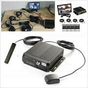 Car Dvr Ahd Sd 4g Wireless Gps Realtime Video Recorder Box+7and039and039 Monitor+4 Cameras
