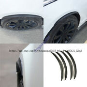 For Jaguar Xf Xfl Xjl Xe F-pace F-type Fender Flares Wheel Arch Eyebrows Covers