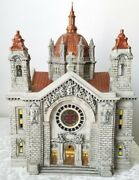 Dept 56 Cathedral Of St. Paul - Copper Roof - Anniversary Ed. W/original Box