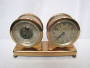 Spaulding And Co Chicago Clock, Barometer, And Thermometer