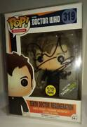 Tenth Doctor Who Regeneration Funko Pop 319 Signed By David Tennant Autograph