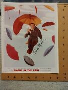 Gene Kelly Signed In Person Photo 8x10 Color