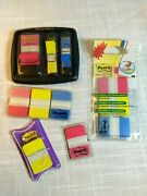 Post It Flags And Tabs Assorted Command Strip Lot