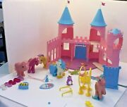 Dream Castle Playset With Majesty + Spike - Vintage G1 My Little Pony Play Set +