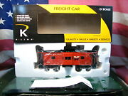 Rare K-line K612-1791 Nh New Haven Bay Window Lighted Caboose 0 Scale 9272 Mib