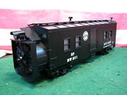 Mth 30-7930 Sp Southern Pacific Mow Mw 221 Rotary Snow Plow New Mint W/ Orig Box