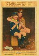 St Paul Pioneer Press Rotogravure February 8 1946 Norman Rockwell A Guiding Hand