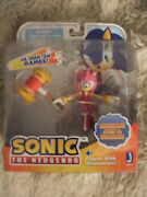 Amy Rose Sonic The Hedgehog Action Figure With Magic Hammer Toy Jazwares New