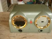 Vintage Crosley D25gn Green 1950's Dashboard Radio Case Only
