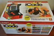 Sealed Ion Icade Video Table Top Arcade Bluetooth Cabinet For Ipad And Tablets