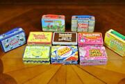 Lot Of 10 Mini Tin Lunchboxes Miniature Tootsie Pop Candy Buttons Cherry Sours