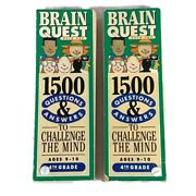 Brain Quest Deck One And Two 1500 Questions And Answers 4th Grade Ages 9-10